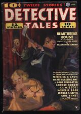 Detective Tales - August, 1935 - Pulp Magazine - FIRST ISSUE