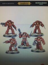 WARHAMMER Space Marines TARTAROS terminazioni Squad