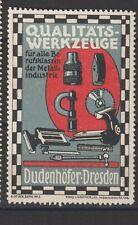 German Poster Stamp Machinery Dresden