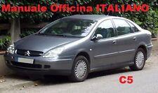 Citroen C5 Mk1 Prima Serie 1° (2000/2008) Manuale OFFICINA Riparazione ITALIANO