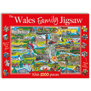 The Wales Family 1000 piece Jigsaw, Gifted Stationery