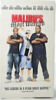 "Sealed VHS Movie ""Malibu's Most Wanted"" Hip Hop Comedy Snoop Dogg, Taye Diggs"