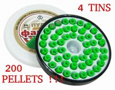 200pcs Fantom Phantom KVINTOR AIR GUN PELLETS SONIC EFFECTS .177 4.5 GREEN BLIK