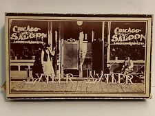 HO HOn3 Scale Lysler & Lystler Archtects in Miniature Chicago Saloon D&RGW