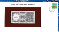 Banknotes of All Nations Egypt 10 Piastres 1980-82 p-183h UNC Meguid serie G/46