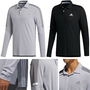 Adidas Golf Long Sleeve Polo Shirt - RRP£60 - Cold Weather - LARGE OR XL