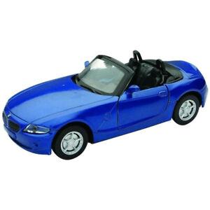 Blue 1:32 BMW Z4 City Cruiser Pullback Kids Boy Model Diecast Toy Sports Car 5+
