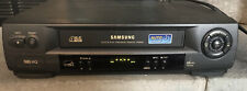 New listing Samsung Vr8060 Vcr 4 Head Vhs Player No Remote -Tested- Works Working
