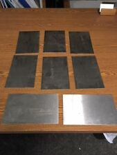 16 gauge Stainless steel sheet metal scrap  (Grade 304/316) 8 pcs ( 5 lbs min)