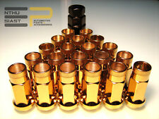 Steel Tuner JDM Lug Nuts Stahl Radmuttern M12 x 1.5 Gold
