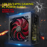 650W PC Power Supply Gaming PC Power PFC ATX 12V 2.0 4-PIN for Desktop Computer