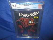 Marvel Collectible Classics Spiderman #2 1998 Mcfarlane #1 Chrominum CGC 9.8 NM+