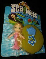 Vintage Kenner 1978 Sea Wees Sandy Mermaid Doll Blonde Baby Star Comb Lily Pad!