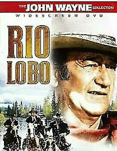 Rio Lobo DVD John Wayne Western Movie - WIDESCREEN - 1970 COLOR