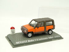 UH Presse 1/43 - Renault Rodeo 4 Saisons Teilhol 1982