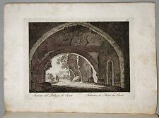 1818c.Inc/Rame.ROMA: INTERNO PALAZZO DEI CESARI. par NIBBY - Parboni-Ruga.