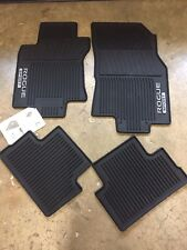 NEW OEM 2017-2018 ROGUE SPORT 4 PC ALL WEATHER RUBBER FLOOR MATS - BLACK
