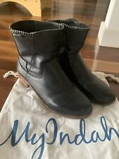 Size 41 my indah leather ankle boots