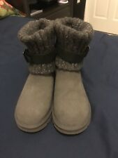 New UGG AUSTRALIA CAMBRIDGE ANKLE BOOTS Grey Size 6
