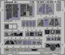 eduard 498051/48 Aircraft- F14A Interior for Tamiya (Painted)