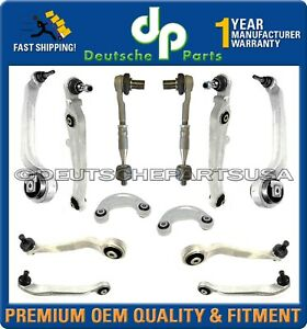 BENTLEY GT GTC UPPER LOWER CONTROL ARM ARMS BALL JOINT JOINTS SUSPENSION KIT 12