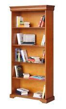 Bibliothèque de style en bois - Meuble merisier - Rangement salon - Bureau