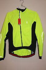 Specialized Deflect H2O Comp Men's Jacket MEDIUM NEON/BLK 64414-6313  NEW