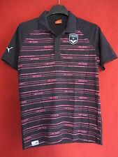 Polo Puma Fc Girondins de Bordeaux Maillot Homme Manche courte Coton - S