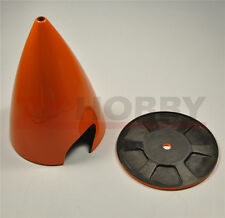 """1PC 2.25"""" /57mm 2 Blade Carbon Fiber Spinner For Gas RC Airplane Orange ZY NEW"""