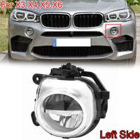 1x Fit For BMW X3 F25 X4 F26 X5 F15 X6 F16 X5M X6M Front Left LED Fog Light Lamp