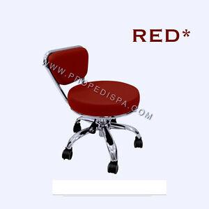 Spa Massage Chair Pedicure Salon Manicure Nail Facial Technician Tattoo Stool