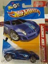 Hot Wheels Cadillac Cien Concept Thrill Racers Blue