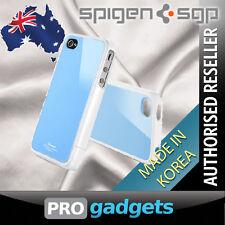 Genuine Spigen SGP Apple iPhone 4 4S Linear Colour Case Cover Series - Blue