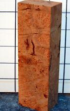 Ramon Burl knife block 1.8x1.2x5.9 inches.