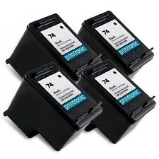 4 Pack HP 74 Ink Cartridge CB335WN - PhotoSmart C4480 C4280 C5280 C4580 Printer