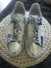 BIKKEMBERGS COOL GREY/SILVER WHITE SNEAKERS SHOES 42