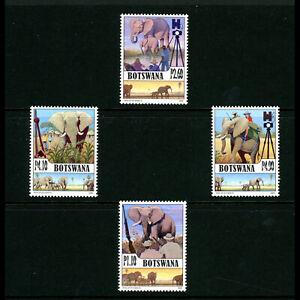 BOTSWANA 2008 Elephants. SG 1103-1106. Mint Never Hinged. (AF540)