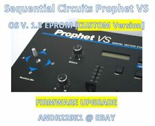 Sequential Circuits Prophet VS V. 1.3 firmware update Upgrade EPROM [Custom os]