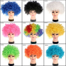 Children Curly Afro Fancy Dress Wigs Funky Disco Clown Style Costume Hair TP