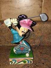 JIM SHORE DISNEY TRADITIONS I'D RATHER BE GOLFING 4038495