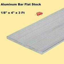 "ALUMINUM BAR FLAT STOCK  1/8"" x 4"" x 3FT  Unpolished Alloy 6061  36"" Long"