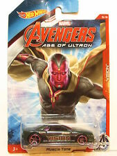 HOT WHEELS 2014 MARVEL AVENGERS AGE OF ULTRON VISION - MUSCLE TONE
