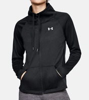 Under Armour UA HeatGear Tech Full Zip Women Long Sleve Jacket 1319383 Black $55