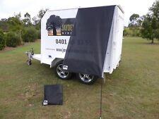 Premium Caravan Fridge / Window Shade 1.5M Midnight Black