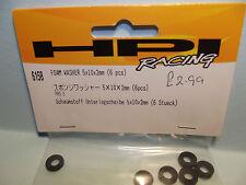 Hpi 6158 Foam Washer 5X10X2mm 6 pcs