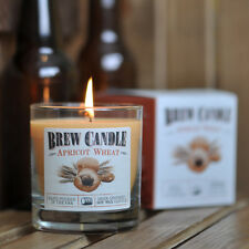 Apricot Wheat Brew Candle