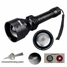 99000lm Wiederaufladbare Taschenlampe Rot Laser Jagd Notfall Flashlight Blendung