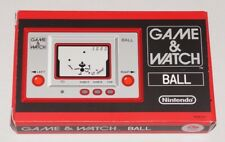 CLUB Nintendo Platinum 2009 Japan 'BALL' Game & Watch Handheld Console NEW - ede