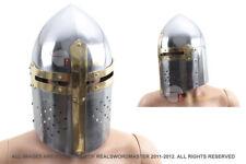 ADULT SIZE Medieval Crusader Great Helm Knight Armor Helmet Larp NIB