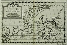 NOWAJA SEMLJA Russland - Jaques Nicolas Bellin - Kupferkarte 1758